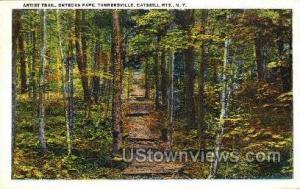 Artist Trail, Onteora Park Tannersville NY Unused