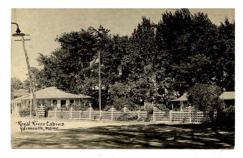 ME - Yarmouth. Royal River Cabins