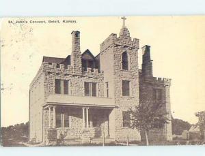 Divided-Back ST. JOHN CONVENT Beloit Kansas KS G2409