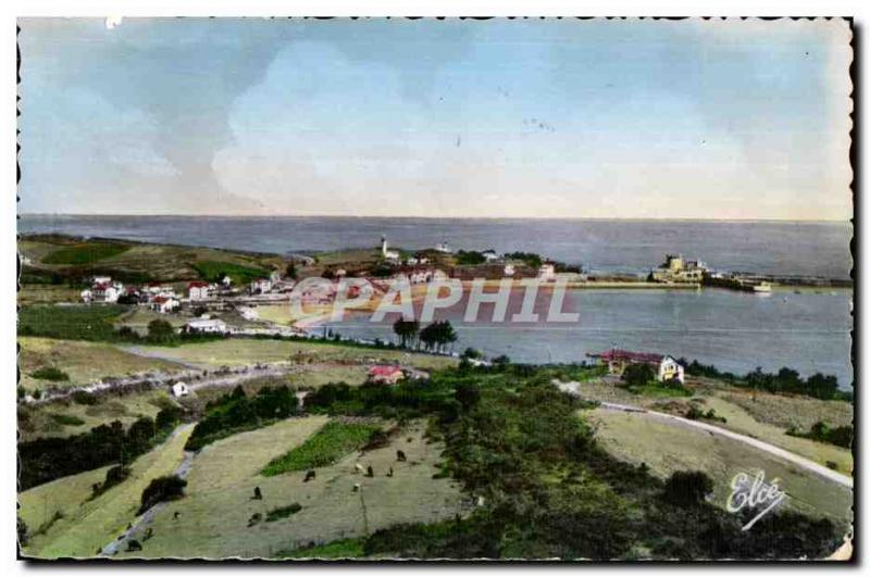 Postcard Old St Jean De Luz (Basses Pyrenees) The Bay and the Fourt Socoo