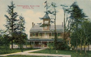 SUNBURY , Pennsylvania, 1911 ; Fort Augusta