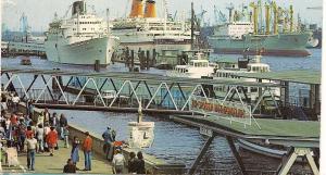 Europa & Cabo San Roque - Hamburg - Post Card - Used