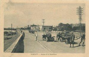 Africa djibouti cote des somalis avenue de la République automobile