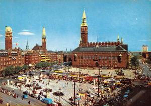 Copenhagen Denmark, Danmark The Town Hall Square Copenhagen The Town Hall Square
