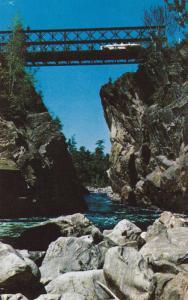 SAULT STE. MARIE , Ontario , Canada , 40-60s ; Agawa Canyon, Bridge