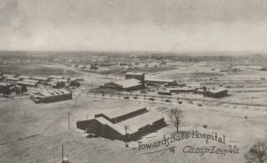 CAMP LEE, Virginia, 1910-20s; View Towards Base Hospital