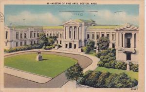 Massachusetts Boston Museum Of Fine Arts 1943