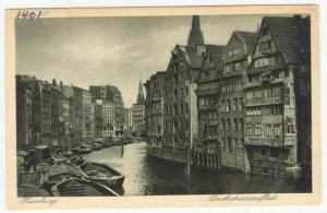 Hamburg Germany, 00-10s Deichstrassenfleet