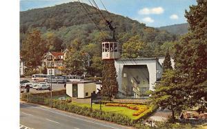 GG11976 Bad Harzburg Bergbahn zum Burgberg (Talstation) Auto Cars