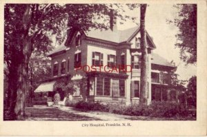 1920 CITY HOSPITAL, FRANKLIN, N. H.