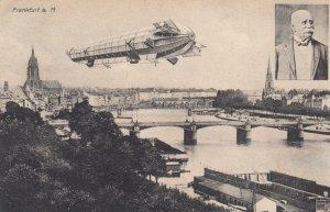 Airship , Frankfurt a. M. , Germany , 1909