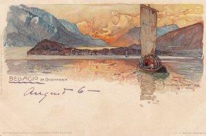 BELLAGIO , Como , Lombardia , Italy , 1901 : Lago di Como