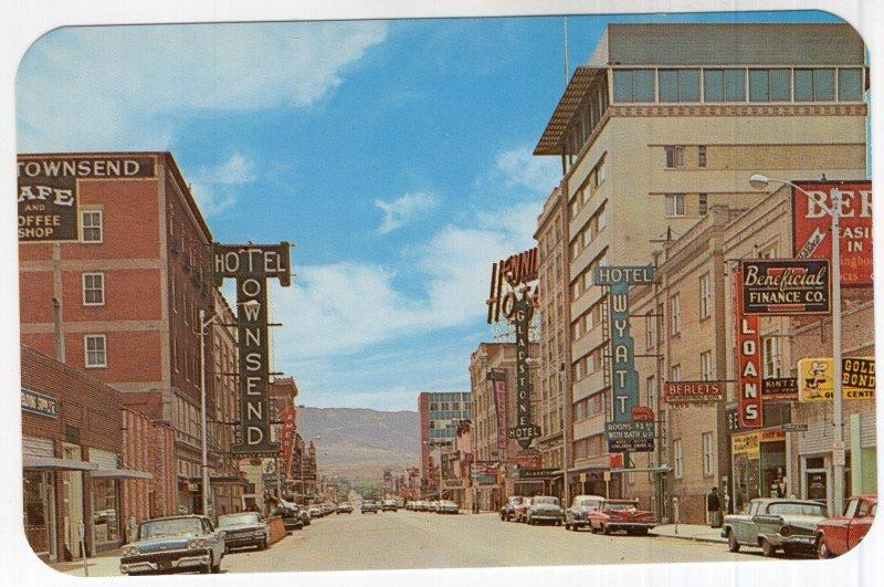 Casper, Wyoming, Center Street, looking South