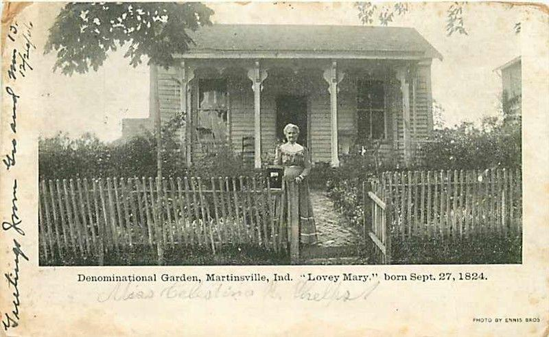 IN, Martinsville, Indiana, Denominational Garden, Lovey Mary