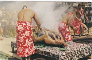 Luau Pig , Hawaii , 1983