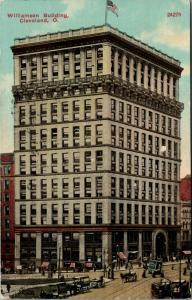 Cleveland Ohio~Williamson Building~Delivery Wagon~Artist Conception~1910 PC