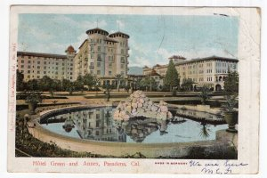 Pasadena, Cal., Hotel Green and Annex