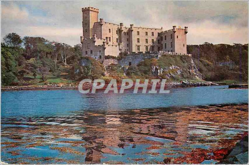 Postcard Modern Dunvegan castle ancient home of the marcleods Ilse of Skye