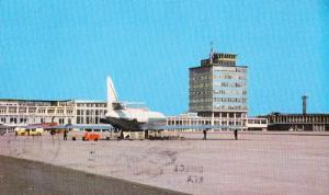 Manchester Airport 1960s Vintage Postcard