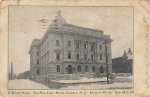 CAMDEN, New Jersey, PU-1907; The New Court House erected 1905-06
