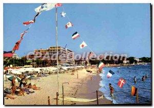 Modern Postcard Juan Les Pins Beach