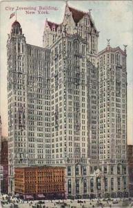 New Yrok City City Investing Building 1911