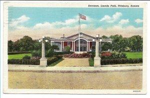 Pittsburg, KS - Entrance, Lincoln Park - 1943