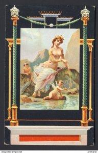 Pompei - Casa degli Amorini Dorati Venere pescatrice - Nude woman cherub