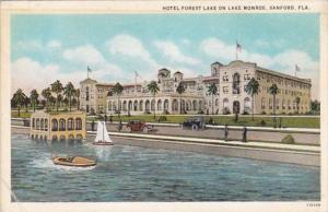 Florida Sanford Hotel Forest Lake On Lake Monroe Curteich