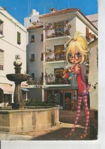 Postal 011191: Plazq Queipo de Llano de Marbella