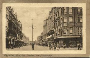 south africa, JOHANNESBURG, Eloff Street North from Pritchard Street (1909)