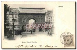Paris - 10 - St Martin - Old Postcard