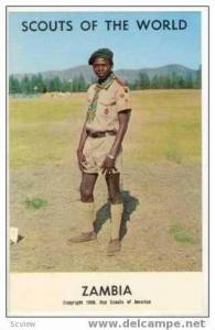Boy Scouts of the World, ZAMBIA SCOUTS, 1968
