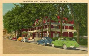 NY - Clayton. The Hubbard Hotel, Thousand Islands