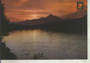 Postal 012420: Lago de Engolasters en Andorra