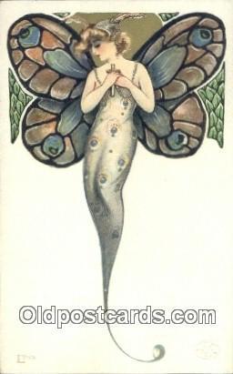 Artist Samuel Schmucker, non postal backing - Unused It looks like the card h...