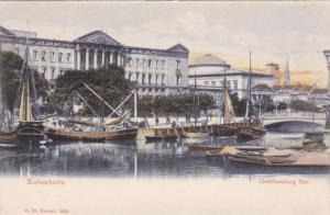 KOBENHAVN, Denmark, 1900-1910´s; Christiansborg Slot