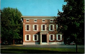 Vtg 1960s Farmers Bank of the State of Delaware Georgetown DE Unused Postcard