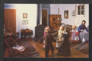 Interior Building,Octagon House,Watertown,WI Postcard