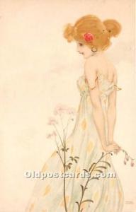M.M. Vienne Artist Raphael Kirchner Unused