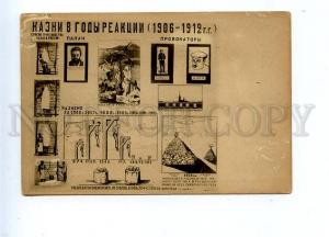 131881 USSR PROPAGANDA Fight Revolution POSTER Death Penalty