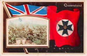 Australia Queensland Brisbane, Nudgee, Vineyard, Flags