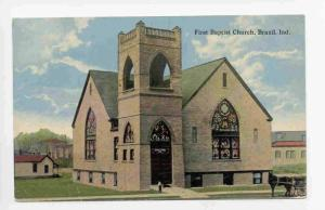 First Baptish Church, Brazil, Indiana, PU-1921