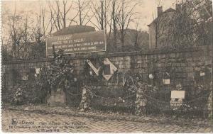 France Dinant place d'Albeau mur tschoffen 01.24