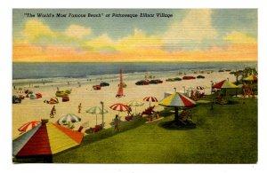 FL - Ellinor Village. Famous Beach