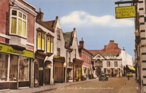 Downham Market Ironmongers High Street Norfolk Old Postcard