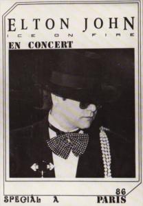 Elton John In Concert Paris