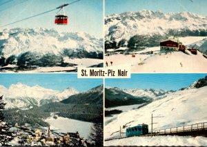 Switzerland St Moritz Multi View