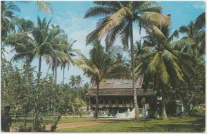 MALAY KAMPONG, Malacca, Malaysia, unused Postcard
