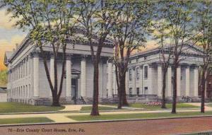 Erie County Court House, Erie, Pennsylvania,30-40s